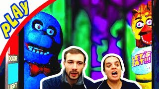 БолтушкА, ПРоХоДиМеЦ и третья НОЧЬ с Мишкой ФРЕДДИ! #211 Игра для Детей - 5 ночей с Фредди