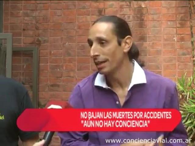 Entrevista a Axel Dell' Olio tras jornada de concienciación (Somos San Nicolás, 2018)