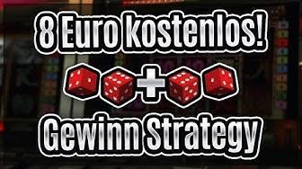 8 Euro Kostenlos + Online Casino Strategie (Gewinn!)