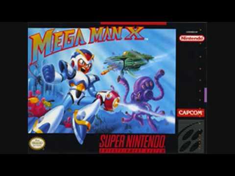 Misc Computer Games - Megaman X - Title Screen
