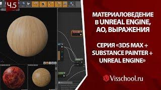 3ds max + Unreal Engine + Substance Painter – часть 5 - материаловедение. МВ - решение проблемы с AO