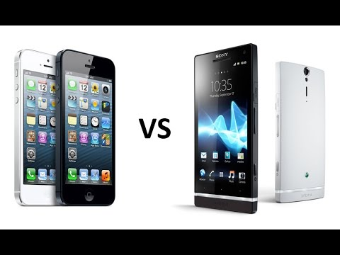 IPhone vs Android(Iphone 5 vs Sony xperia s)