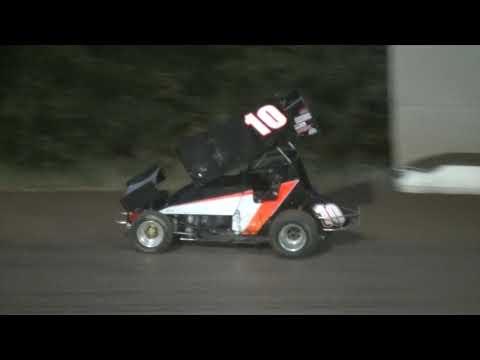 8 23 14 Cottage Grove Speedway 360 sprints Dash, Heats, Main
