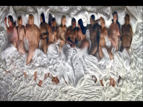 "Kanye West's Controversial ""Famous"" music video @Hodgetwins"