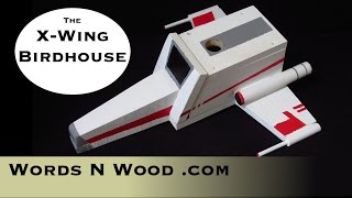 The X-wing Bird House (wnw#21)