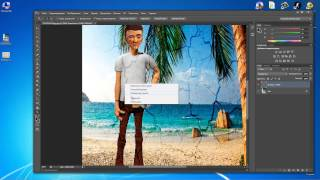 Как добавлять текстуру в фотографию либо картинку с помощью adobe photoshop cs6