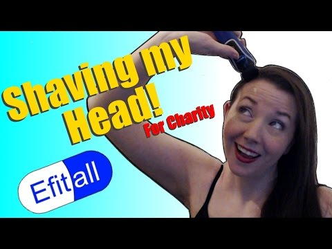 Shaving my head for charity!  (+ some Overwatch) [Stream]