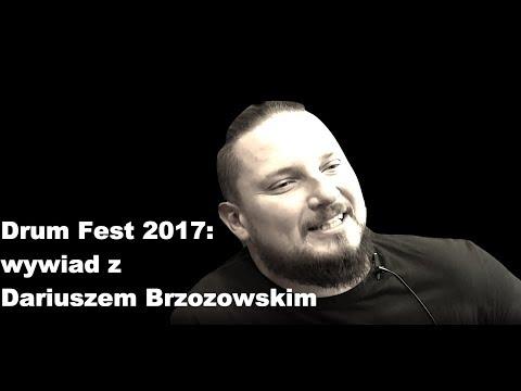 """Dariusz """"Daray"""" Brzozowski Drum Fest 2017 wywiad dla BeatIt"""