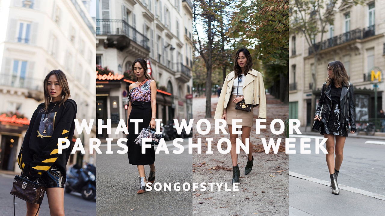 Paris Fashion Week Outfits Song Of Style Youtube
