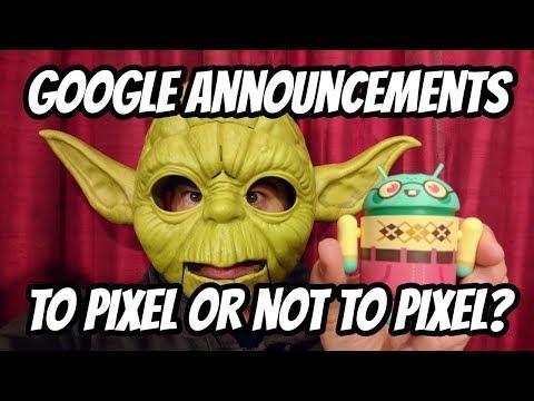 Google Pixel 3 Launch Event Announcements Commentary