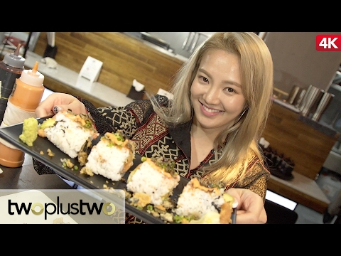 SNSD Hyoyeon Delicious Sushi Roll Tutorial || How To Make Sushi Rolls