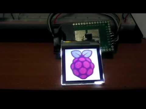 Raspberry PI and nokia 6100 LCD