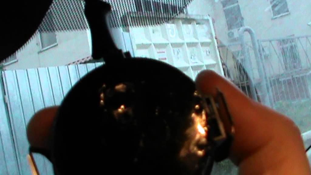 SUBARU Forester SG5. Снятие салонного зеркала.