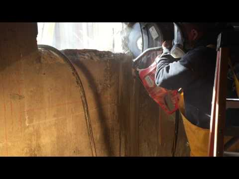 Concrete Foundation Cutting For Egress Windows - St. James, N.Y 11780