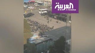 لقطات ترصد القوات الخاصة في شوارع طهران