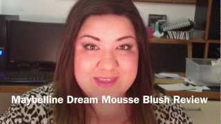 Maybelline Dream Mousse Blush review Thumbnail