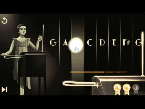 Google Doodle Interactive Animation Video - Clara Rockmore