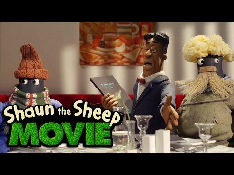 Shaun the Sheep The Movie - Restaurant (Movie Clip)