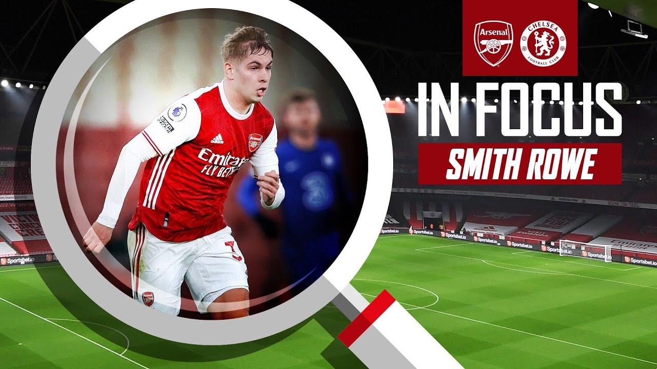 Emile Smith Rowe Every Touch Arsenal Vs Chelsea 3 1 Youtube