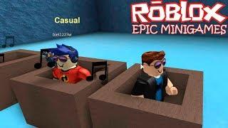 QDB - Roblox Epic Minigames - Eu e o Biel nos desafios!!! (GIOCO PT-BR)