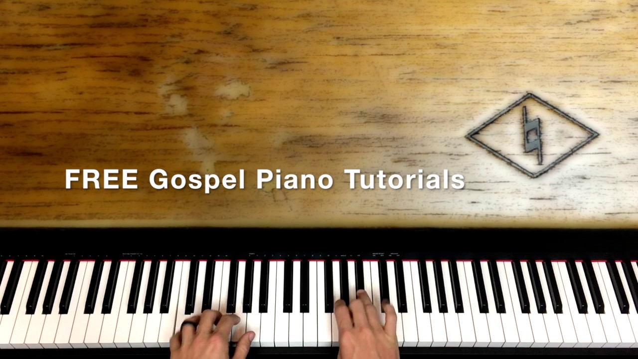 FREE Gospel Piano Tutorials!!!