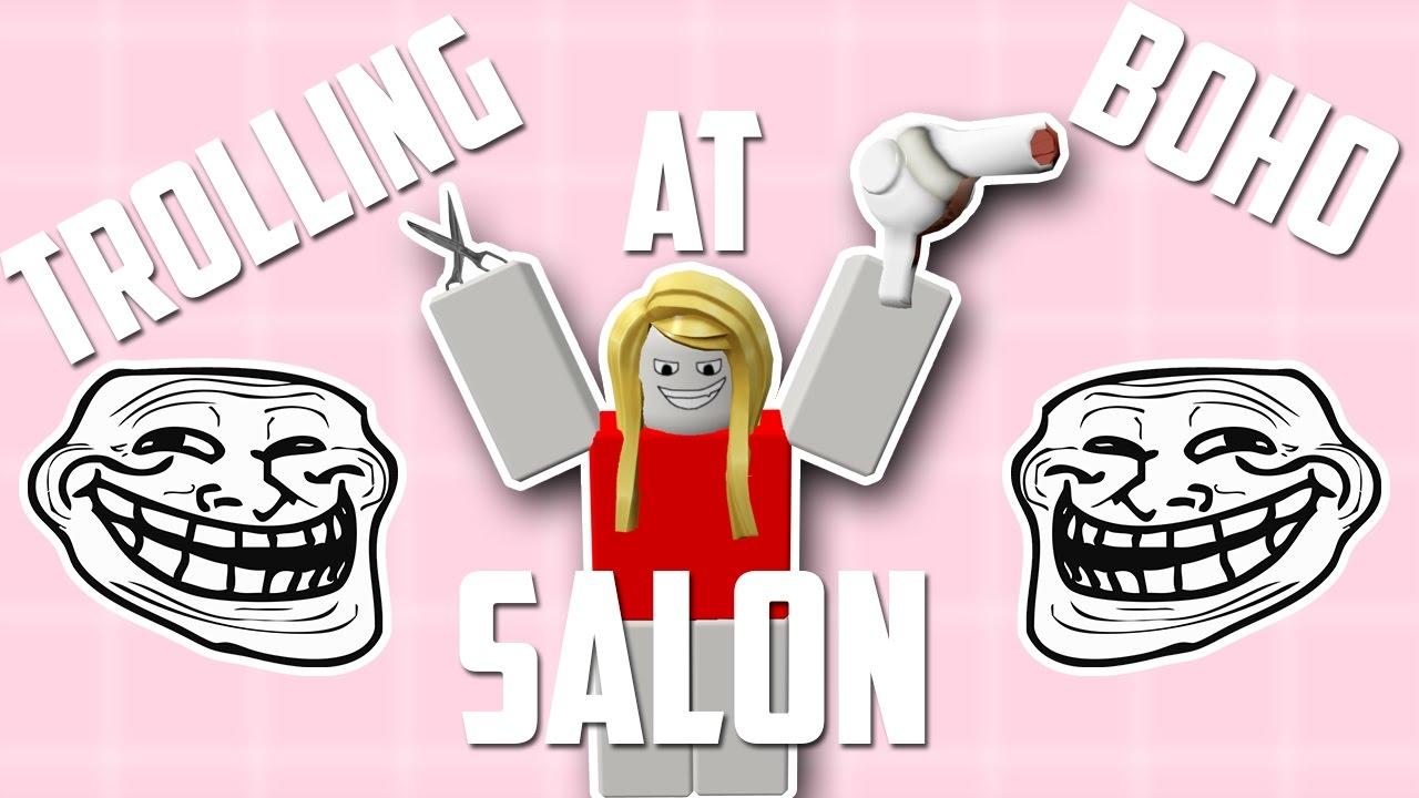 Trolling At Boho Salon Roblox Boho Salon Application Answers