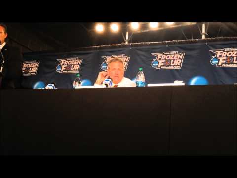 University of Minnesota Postgame Press Conference: Frozen Four National Championships (4/12/14)