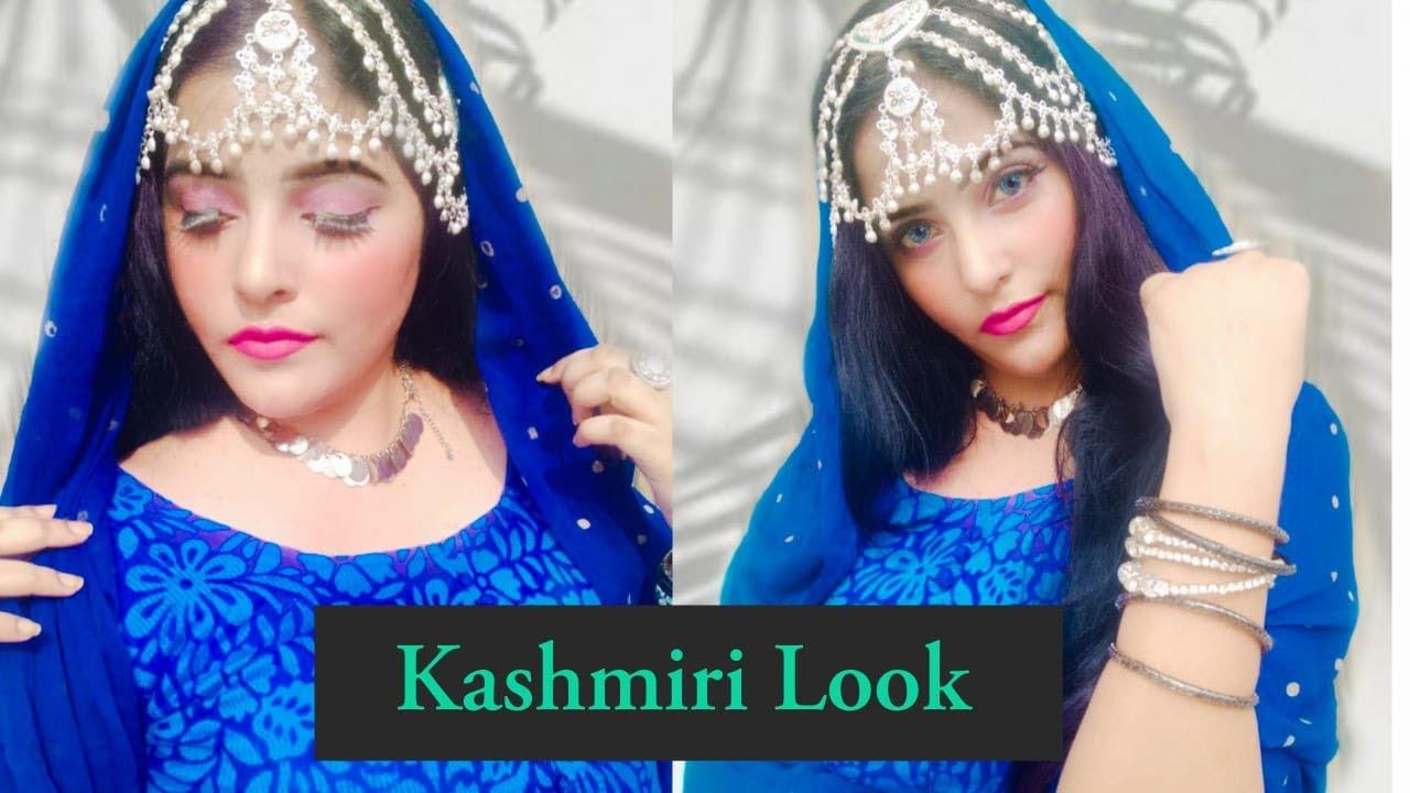 Kashmiri Makeup tutorial afghani look  Supriyatheclassytips  Supriya