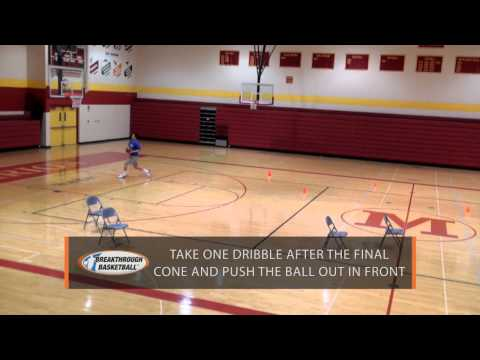 Basketball Drills - Multipurpose Ball Handling, Passing, Cutting, And Finishing Drill