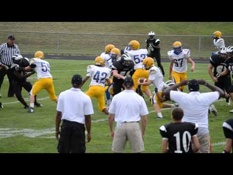 9-11-14 Loyola Blakefield over Archbishop Curley High School 32 to 6