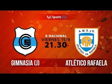 Primera B Nacional: Gimnasia de Jujuy vs. Atlético de Rafaela  | #BNacionalenTyC