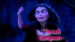 Tangled - Mother Knows Best - (Reprise) - [One Line Multilanguage]