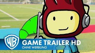 SCRIBBLENAUTS SHOWDOWN - Launch Trailer Deutsch HD German (2018)