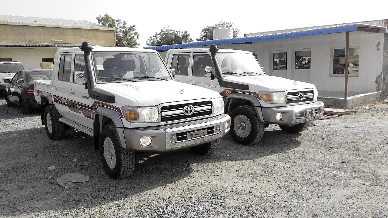 Toyota Land Cruiser Pickup Diesel Double Cabin Full Option