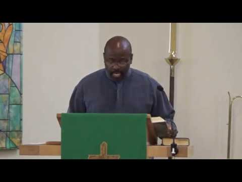 Pastor James Johnson 8-27-17