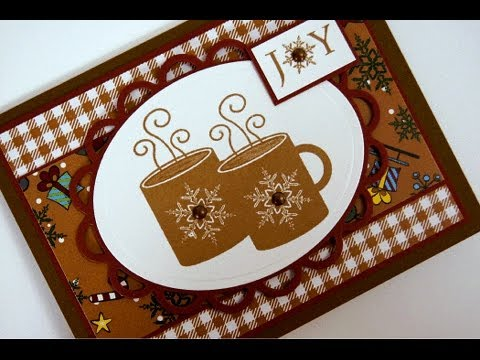 Christmas Cocoa Card Christmas Card Idea Stamping