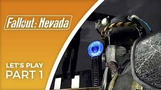 Let's Play Fallout: Nevada - Part 1 - Totally new game, fan made total conversion