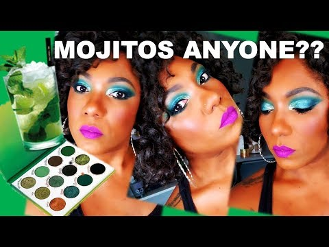 **NEW** Mojito Palette!! Eye Look & Swatches thumbnail