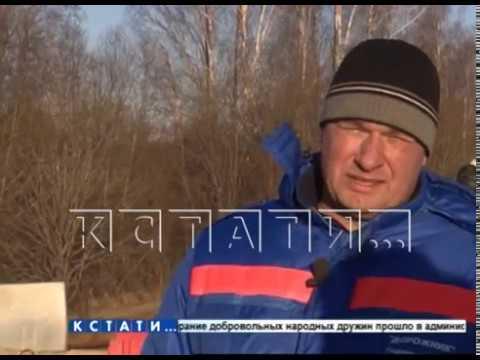 В Шахунье начали восстанавливать дорогу, размытую из-за прорыва дамбы