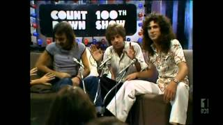Countdown (Australia)- Molly Meldrum Introduces Mark Holden- April 3, 1977- 100th Episode