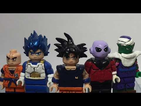 New 2019 Dragon Ball Z GT Super Saiyan 3 /& 4 Goku Brick Figure Custom Minifigure