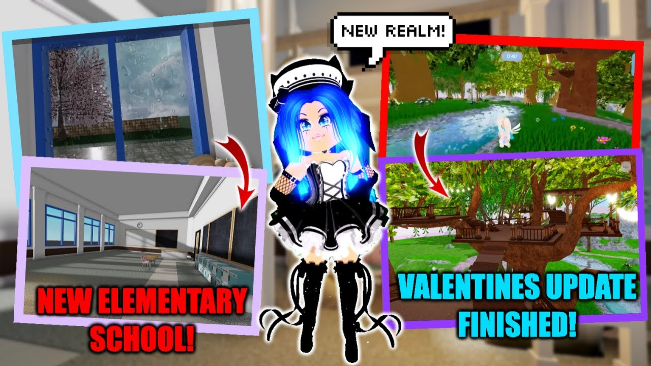 Elementary School New Realm Valentines Update Finished I