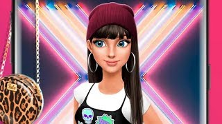 Hannah Teen Fashion Dress up Hair Style Makeover Puzzle Match Gameplay