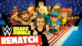 WWE Toys Shake Rumble REMATCH w/ WWE Mystery Minis Toys Battle Royal by KidCity