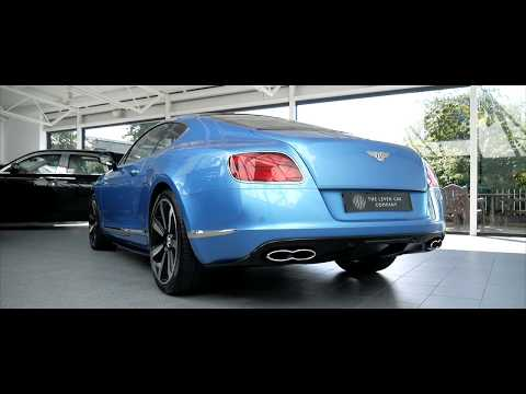 2014 Bentley Continental Gt V8 S Youtube