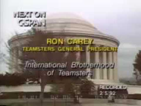Ron Carey vision of the Teamsters
