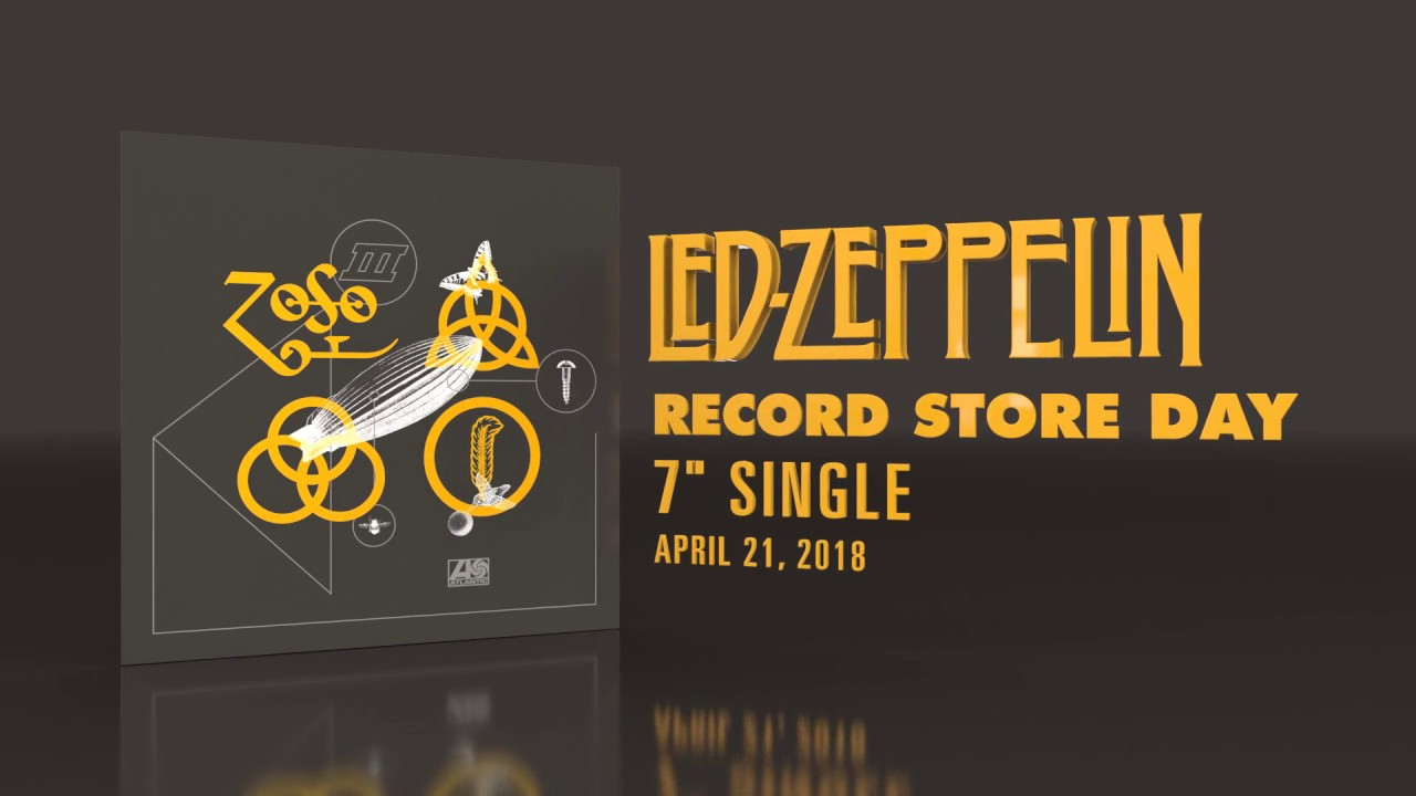 Led Zeppelin - Record Store Day 2018 - YouTube