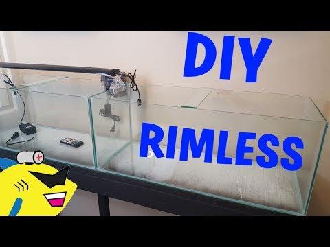 Make Your Own: DIY RIMLESS AQUARIUM