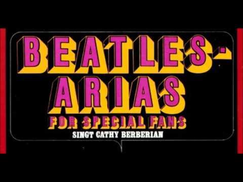 Cathy Berberian ELEANOR RIGBY & YELLOW SUBMARINE (Lennon - McCartney)