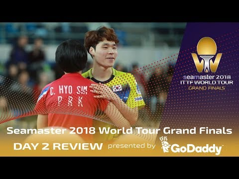 Day 2 Review by GoDaddy | 2018 ITTF World Tour Grand Finals